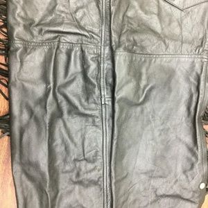 Wild Rider Pants - WILD RIDER Women's Fringe Snap Motorcycle Pants